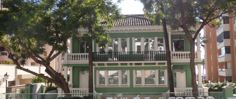 Rehabilitacion edificio Paseo de Sancha 26