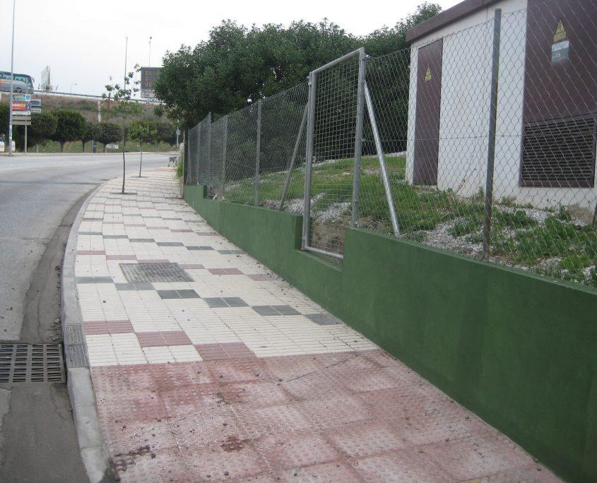acerados e infraestructuras Barriada Las Posturas