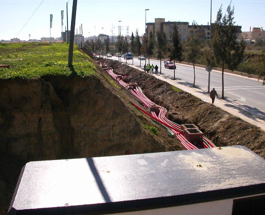 infraestructuras Cerro Aguila