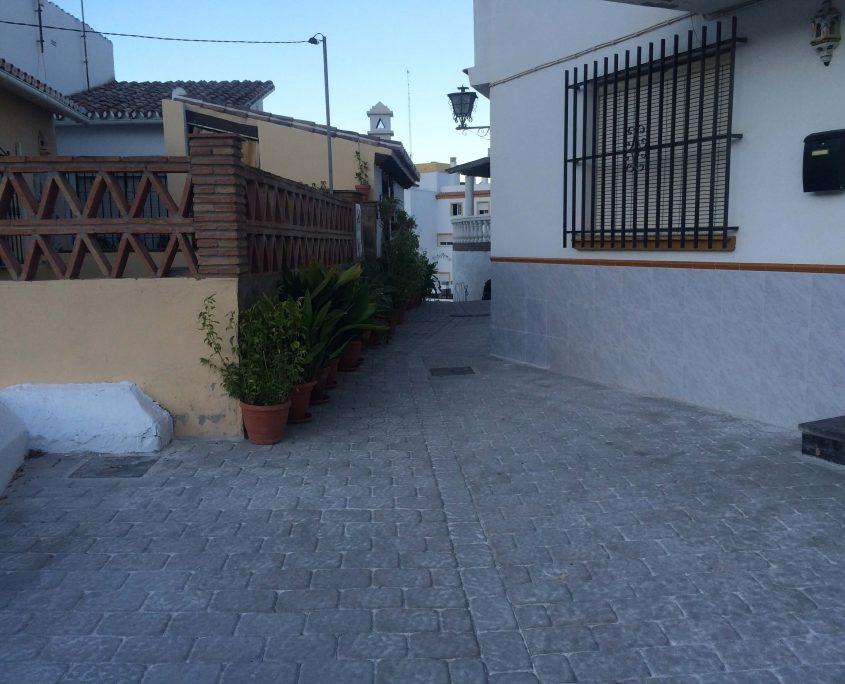 pavimentado infraestructuras Catezuela