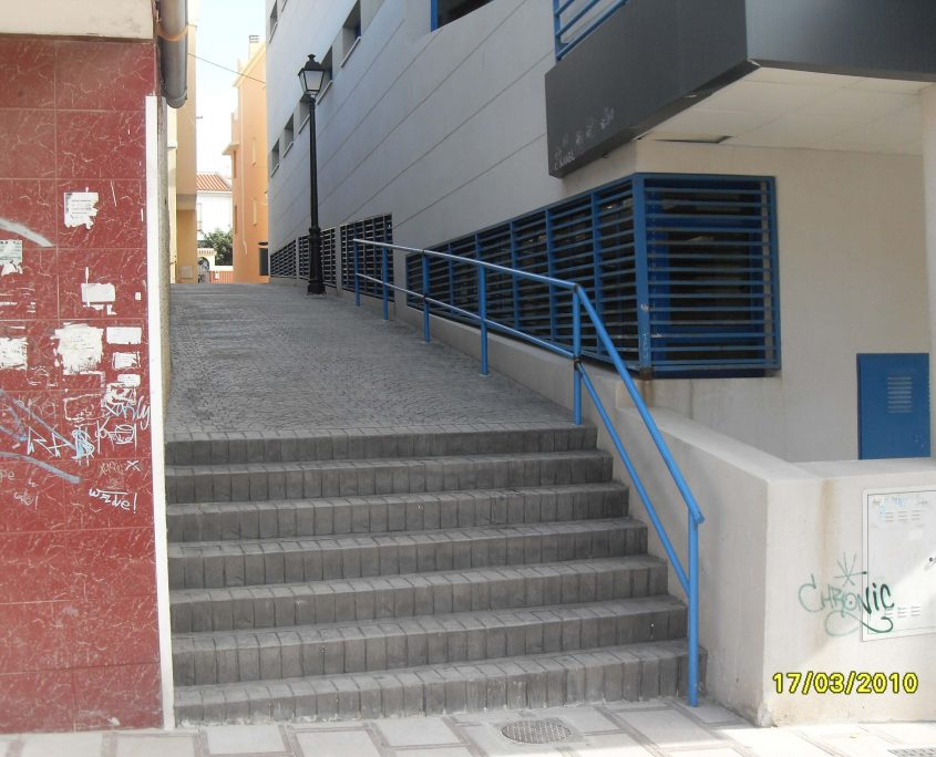 pavimentado infraestructuras calle Iglesia