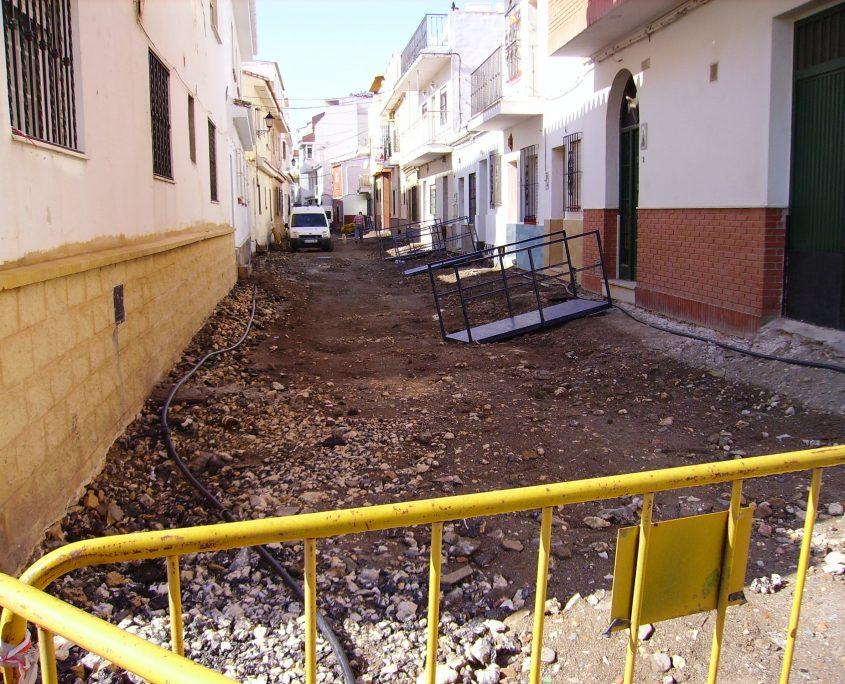 pavimentado servicios infraestructuras calle victoria